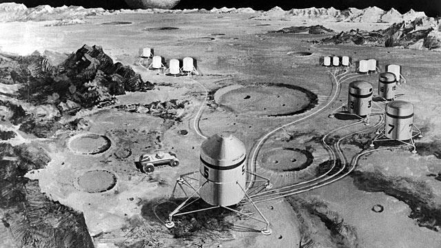 lunar space colony - photo #14