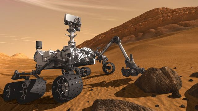 robot goes to mars - photo #47