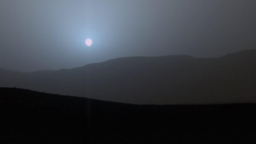 mars sunset rover - photo #24