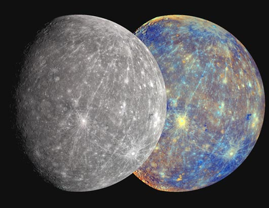 mercury planet size and color - photo #37