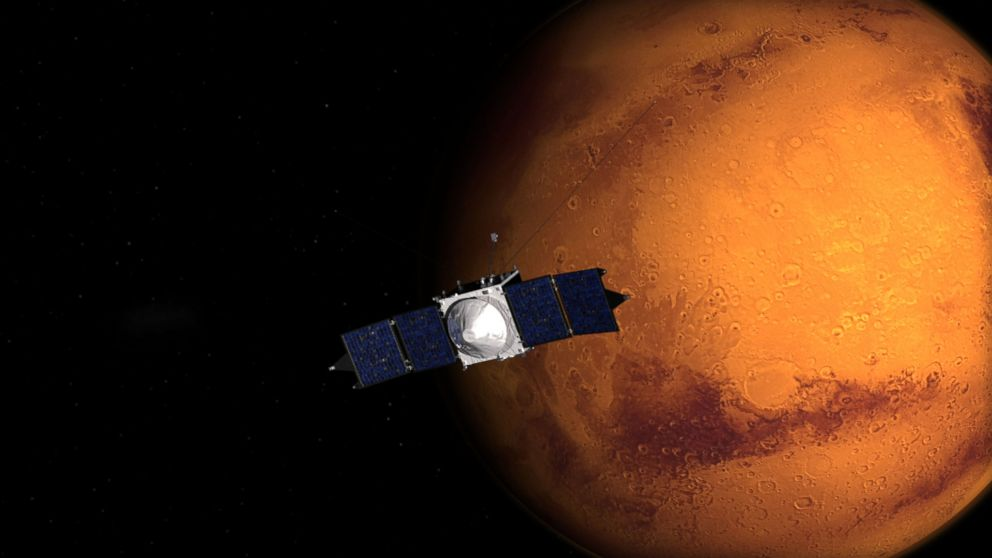 How the Maven Spacecraft Is Helping NASA Prepare to Send ...