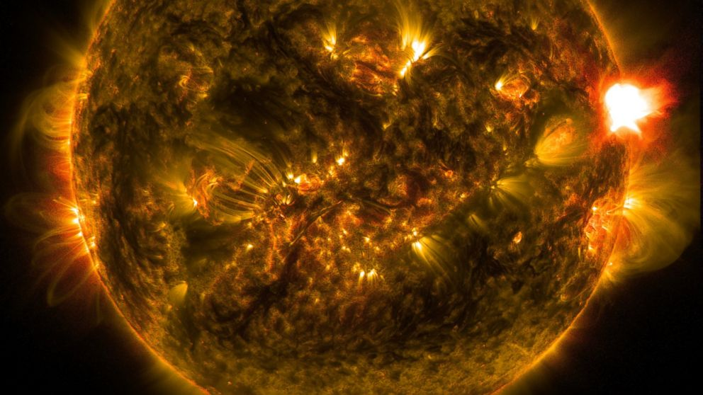 solar flares today nasa warning - photo #39