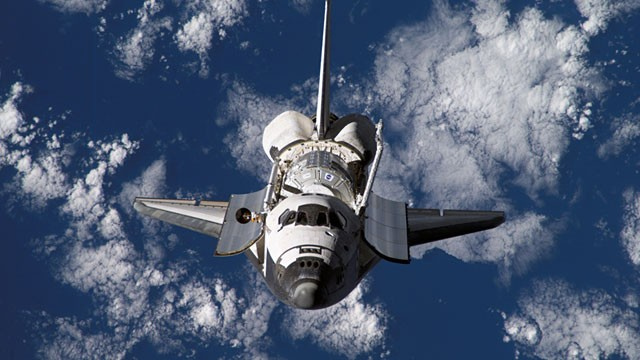 Atlantis Space Shuttle in Orbit - Pics about space