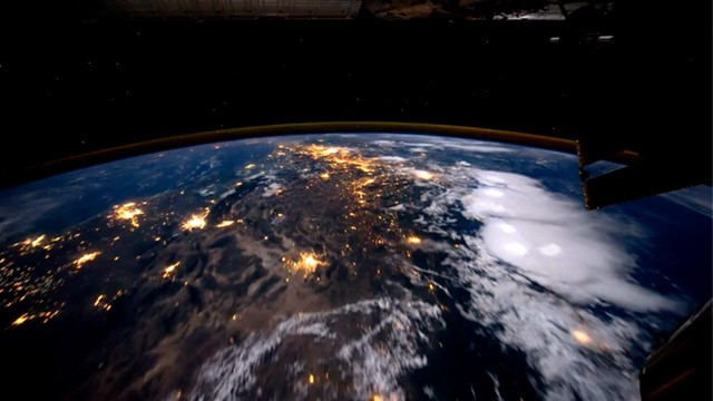 Earth From Space Station - Pics about space