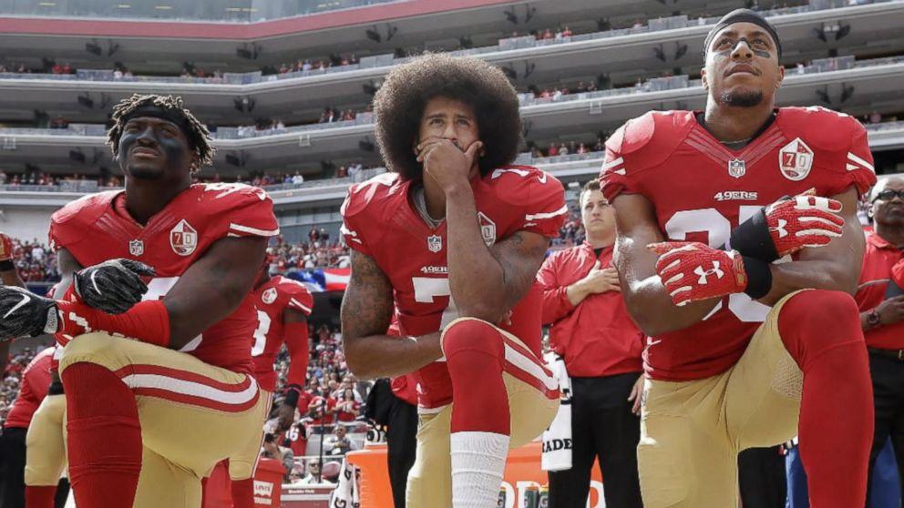 Colin Kaepernick and the Politics of Respect - Assertive ... |Football Players Kneeling