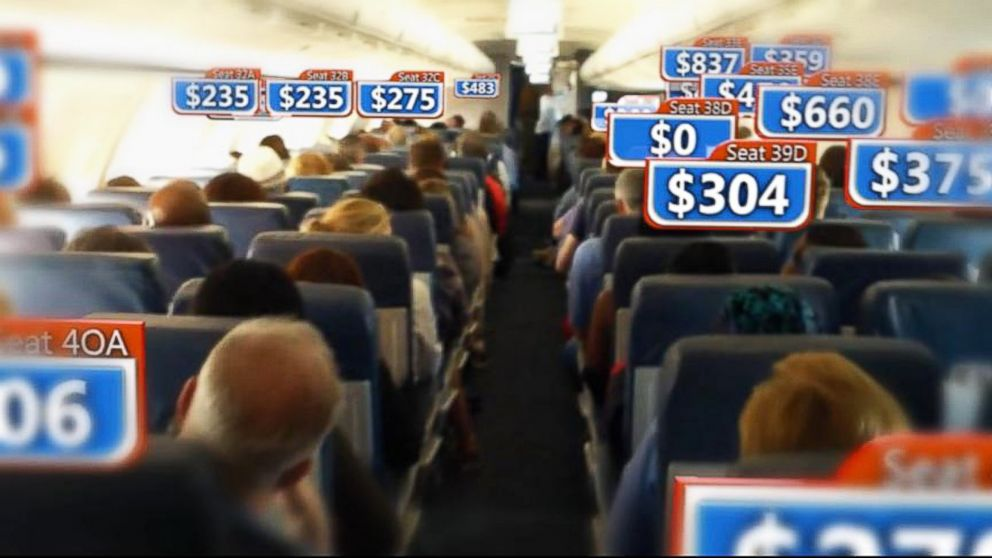 Airline Ticket Prices Shown to Vary Wildly Among Seats on ...