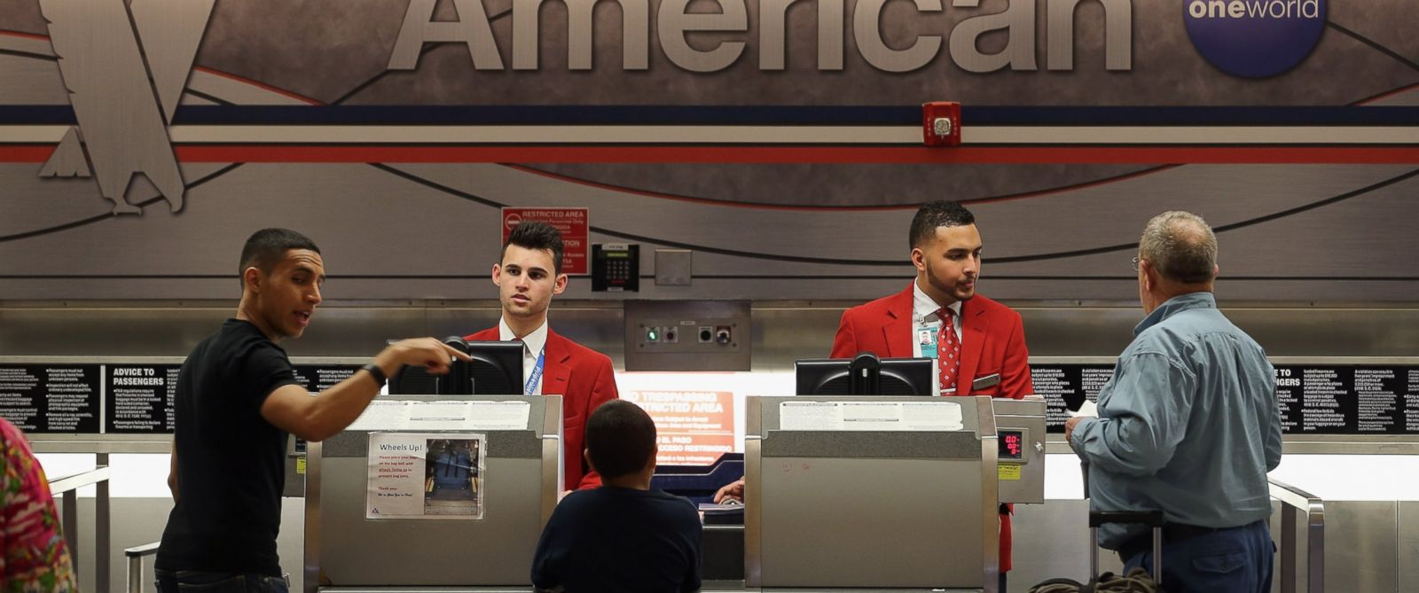 meet airline employees