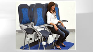Skyrider The World S Most Cramped Airplane Seat Abc News