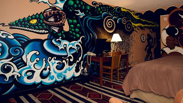 11 Creative Hotel Rooms Double As Art Installations Abc News