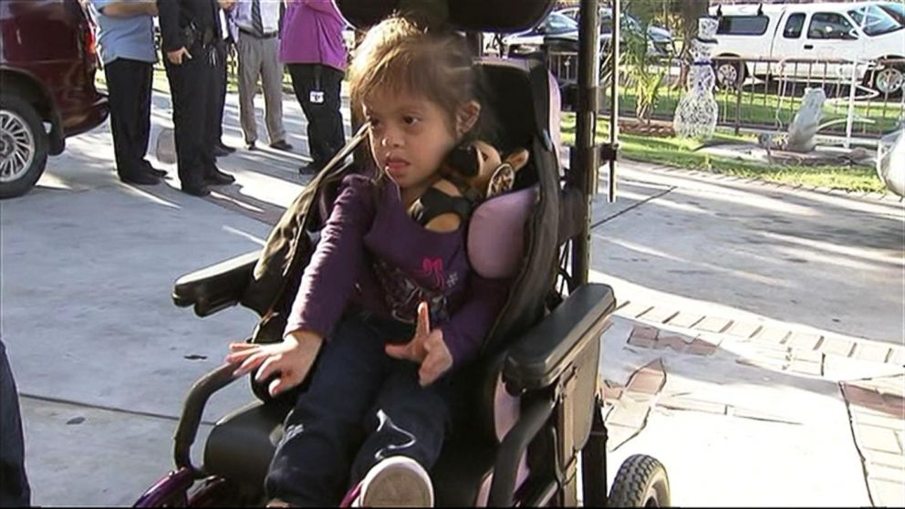 Girl With Down Syndrome Gets New Wheelchair Surprise After