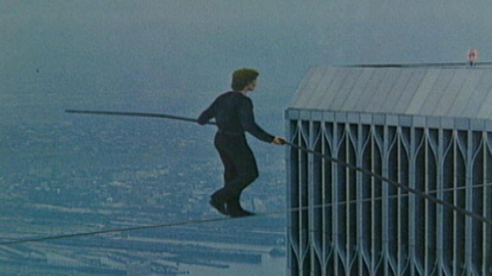 August 7 1974 Tightrope Walk Between The Twin Towers
