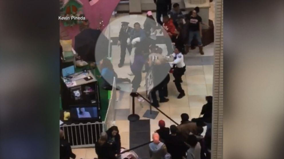 Easter Bunny Throws Punches During Brawl At Nj Mall Video