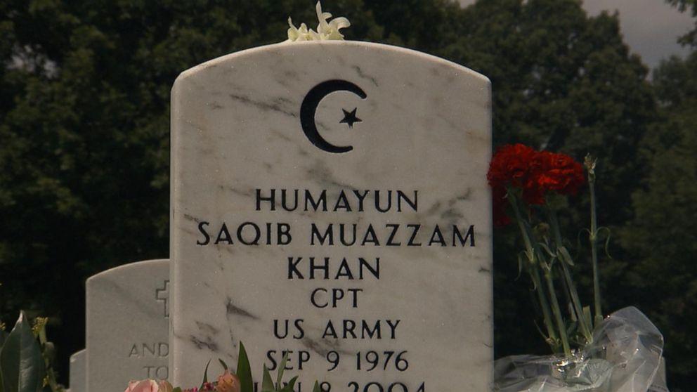 Abc Las Vegas >> Capt. Khan's Arlington Grave Attracts Visitors After Trump ...