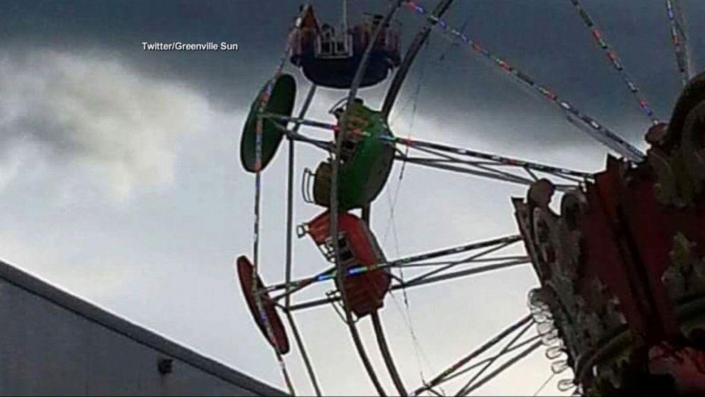 3 Children Fall 35-45 Feet from Ferris Wheel in Tennessee Video (1.16/2)