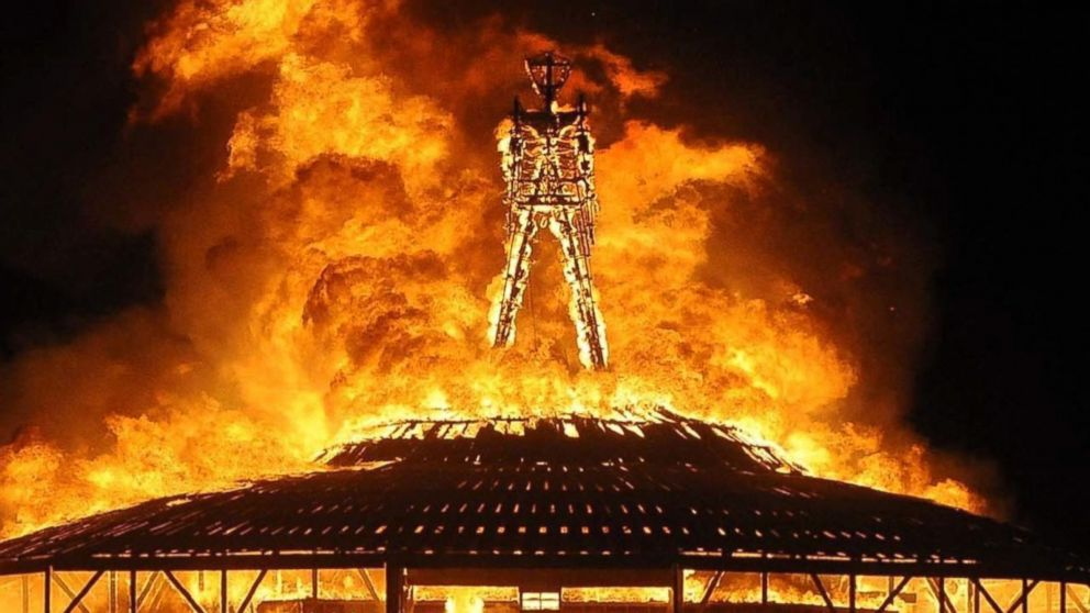 Sections                                                    Shows                                                    ABC News Network  |  © 2020 ABC News Internet Ventures. All rights reserved.                                                                                        Burning Man: In a Minute