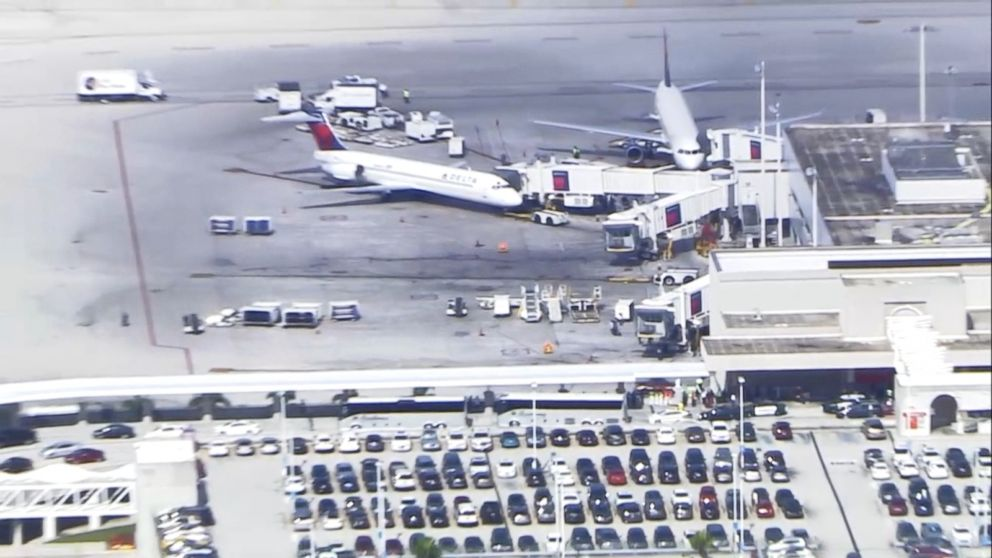 9 Injured In Shooting At Fort Lauderdale Airport Suspect