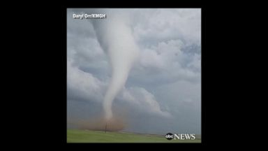 Storm chasers capture Wyoming twisters on camera