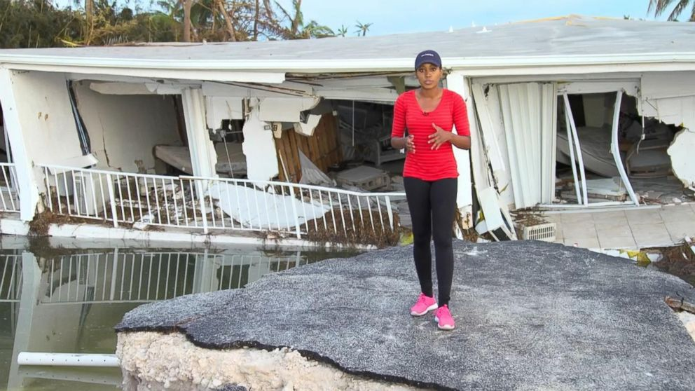 Irma Devastates Islamorada Florida Video Abc News