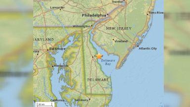 4.1 magnitude earthquake detected off East Coast