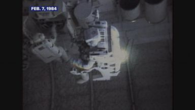 Feb. 7, 1984: 1st human free-floats on a shuttle spacewalk