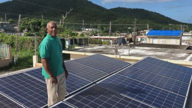 How solar power is helping a Puerto Rican town