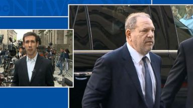 Harvey Weinstein pleads not guilty to rape and criminal sexual act charges