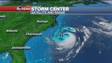 Chris expected to strengthen into hurricane off East Coast today