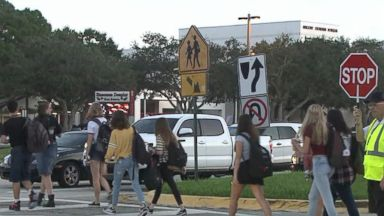 First day of school in Parkland, Florida