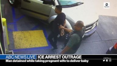 ICE arrests man taking wife to hospital