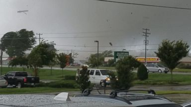 Tornado destroys buildings in Virginia