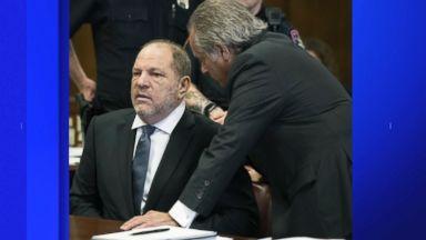 Prosecutors drop part of sexual assault case against Harvey Weinstein