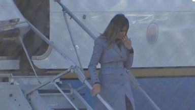 First lady's plane malfunctions midair