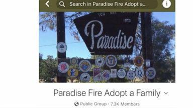 'Paradise Fire Adopt a Family' connects Camp Fire survivors with donors