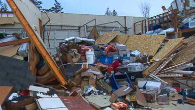 Tornado touches down in Washington state