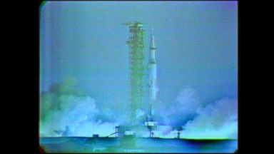 Apollo 8 mission takes flight