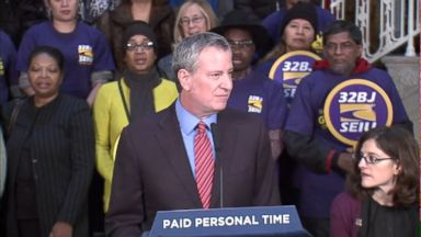 NYC law would give 2 weeks of paid vacation to all