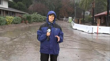Pacific storm pounds California with rain, snow brings risks of mudslides to area