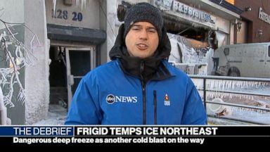 Bone-chilling temperatures grip millions across Eastern U.S.