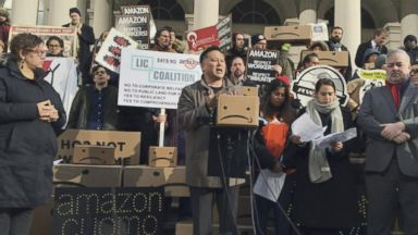 Amazon cancels plan to build a headquarters in New York