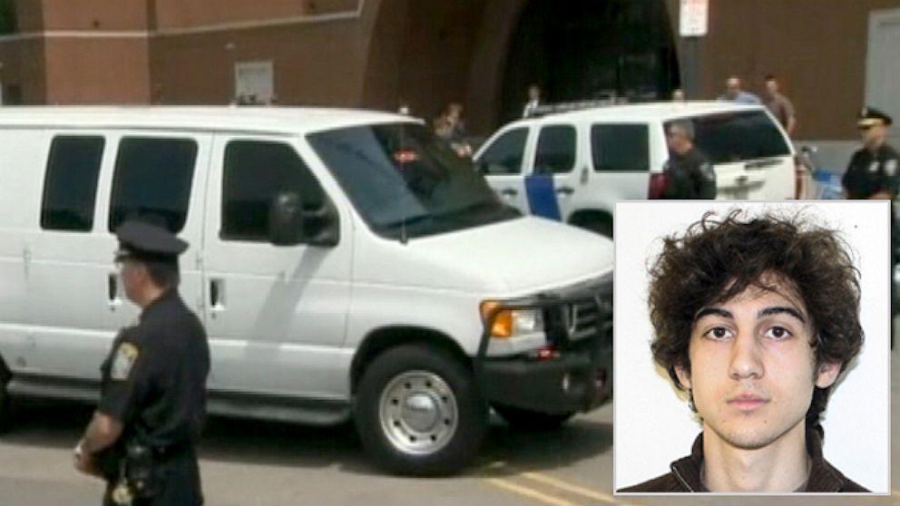 Accused Boston Marathon Bomber Dzhokhar Tsarnaev Smiles In