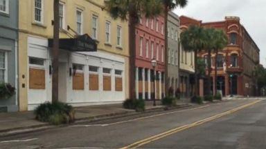 Charleston Is a Ghost Town Ahead of Hurricane Matthew