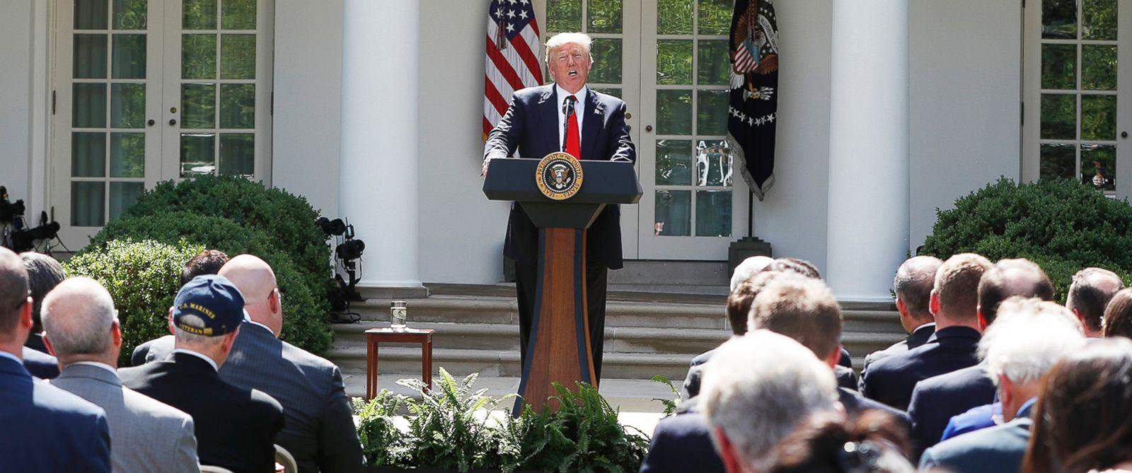 Fact-checking Trump's speech on the Paris Accord - ABC News