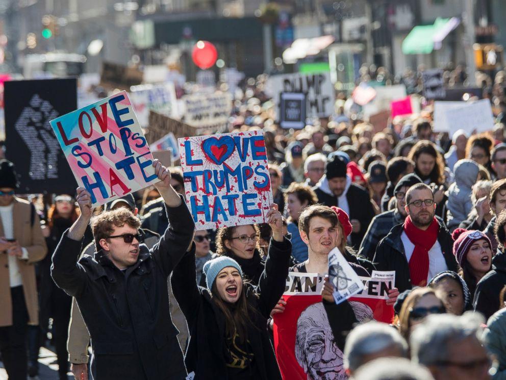 Demonstration Usa