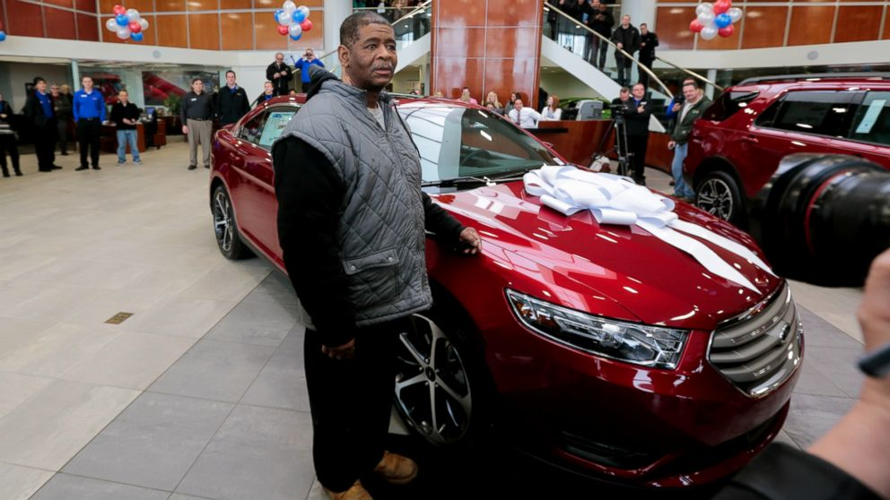 Atlantic City Car Show >> Detroit Man Who Walks 21 Miles To, From Work Receives New ...