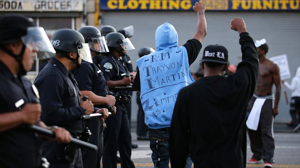 Zimmerman Protests Heat Up With Arrests Violence Days