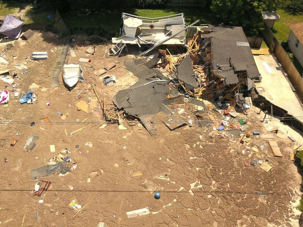 Florida Sinkhole Swallows Boat, 2 Houses; Others At Risk