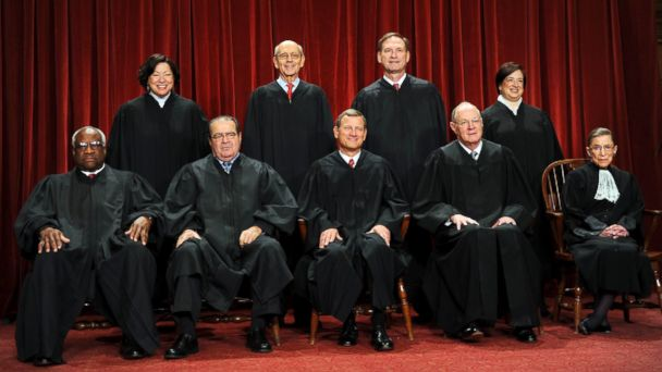 GTY supreme court justices jef 140116 16x9 608 Justices to Meet Behind Closed Doors to Discuss Gay Marriage Cases
