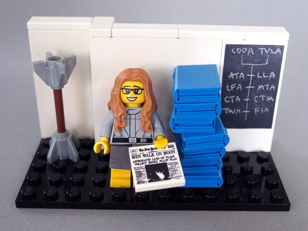 PHOTO: LEGO has announced it will sell a Women of NASA set of its Minifigures.