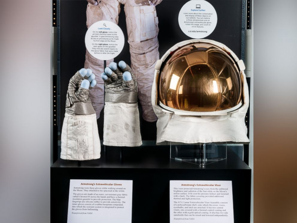 Neil Armstrong's Moon Landing Artifacts Are on Display at ...