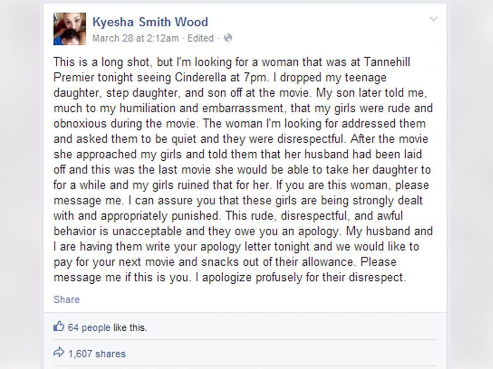 Alabama Moms Meet After Facebook Apology For Kids
